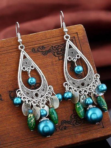 Vintage tassel earrings - INS | Online Fashion Free Shipping Clothing, Dresses, Tops, Shoes
