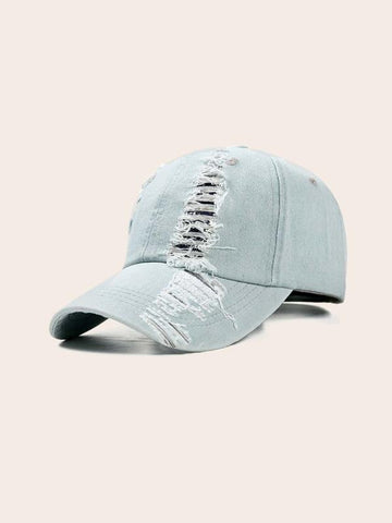 Washed Broken Baseball Cap - INS | Online Fashion Free Shipping Clothing, Dresses, Tops, Shoes