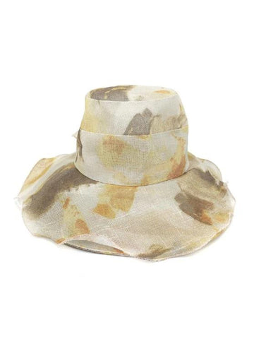 Water Color Floral Wide Brimmed Beach Sun Hat - INS | Online Fashion Free Shipping Clothing, Dresses, Tops, Shoes