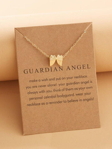 Wing Charm Necklace - INS | Online Fashion Free Shipping Clothing, Dresses, Tops, Shoes
