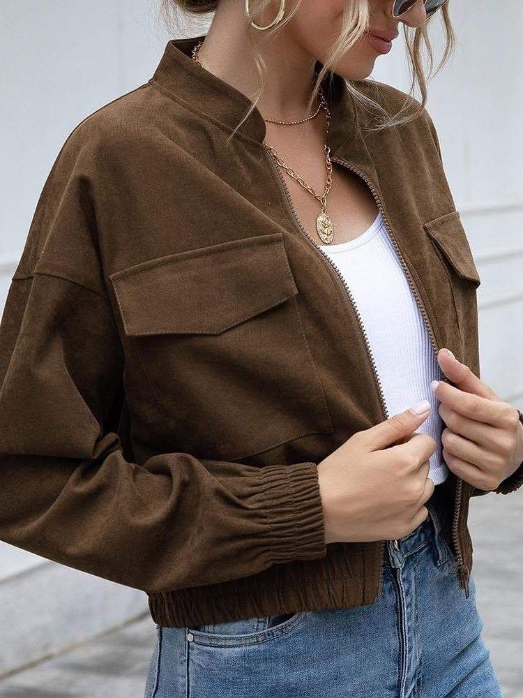 Women Casual Short Jacket - INS | Online Fashion Free Shipping Clothing, Dresses, Tops, Shoes