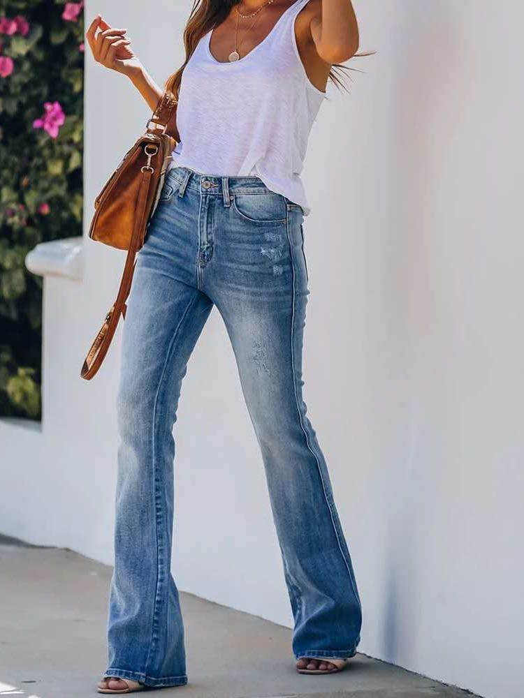 Women Hip-lifting Flare Jeans - INS | Online Fashion Free Shipping Clothing, Dresses, Tops, Shoes