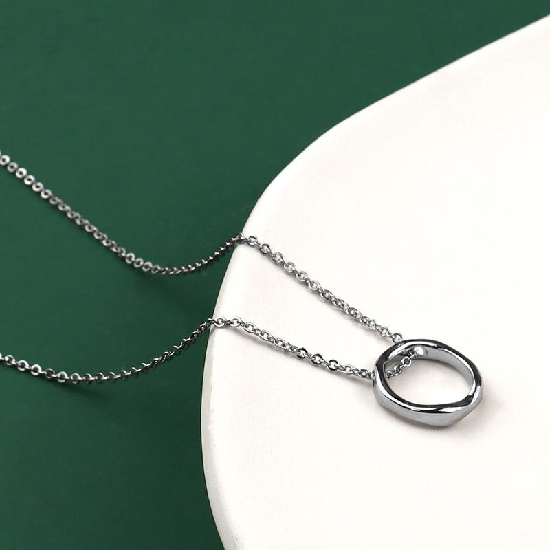 Women Irregular Circle Pendant - INS | Online Fashion Free Shipping Clothing, Dresses, Tops, Shoes