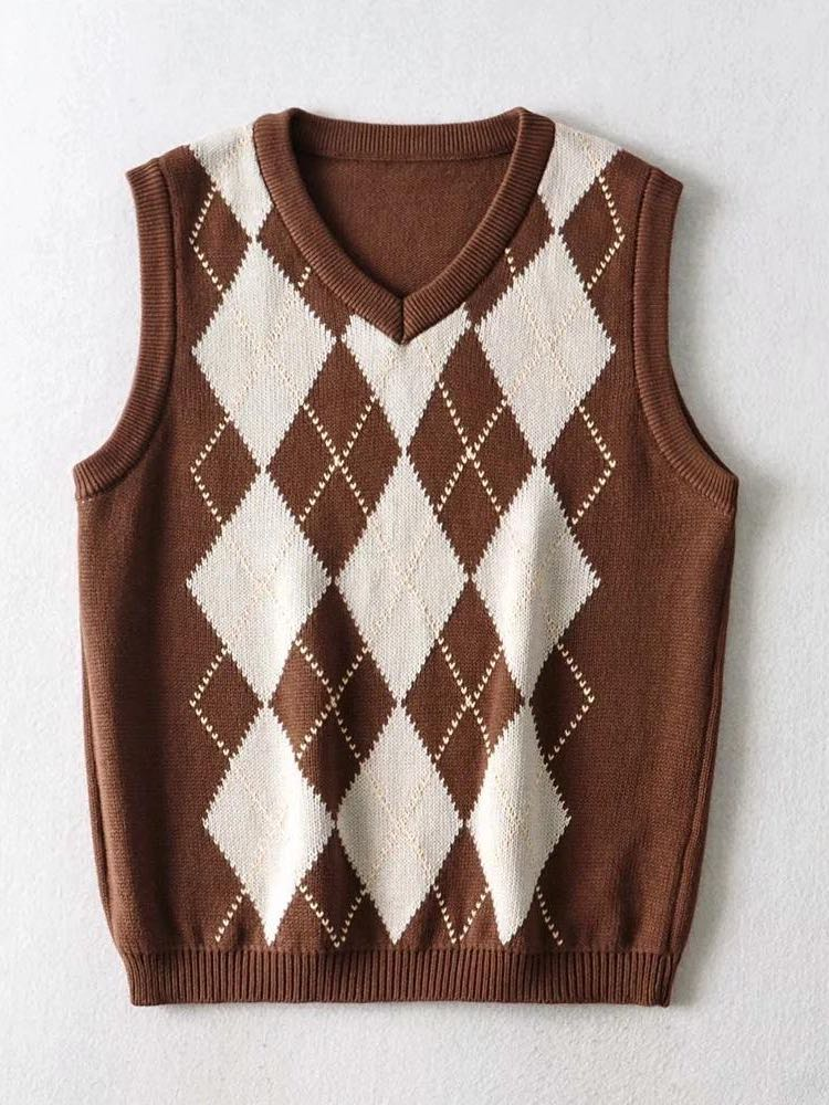 Women knitted sweater vest - INS | Online Fashion Free Shipping Clothing, Dresses, Tops, Shoes