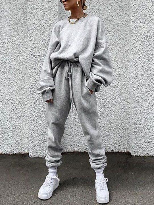 Women Loose Loungewear Sets - INS | Online Fashion Free Shipping Clothing, Dresses, Tops, Shoes