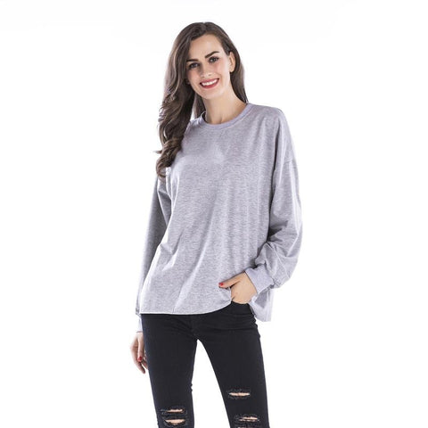 Women Loose Printed Sweatshirt - INS | Online Fashion Free Shipping Clothing, Dresses, Tops, Shoes