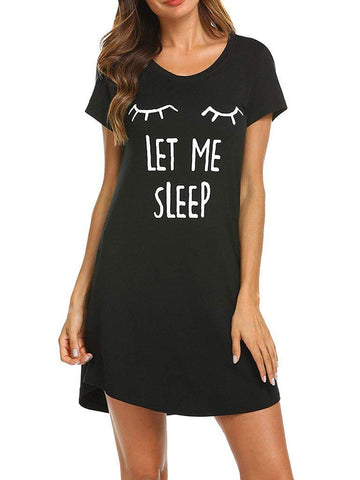 Women Print Pajama Dress - INS | Online Fashion Free Shipping Clothing, Dresses, Tops, Shoes