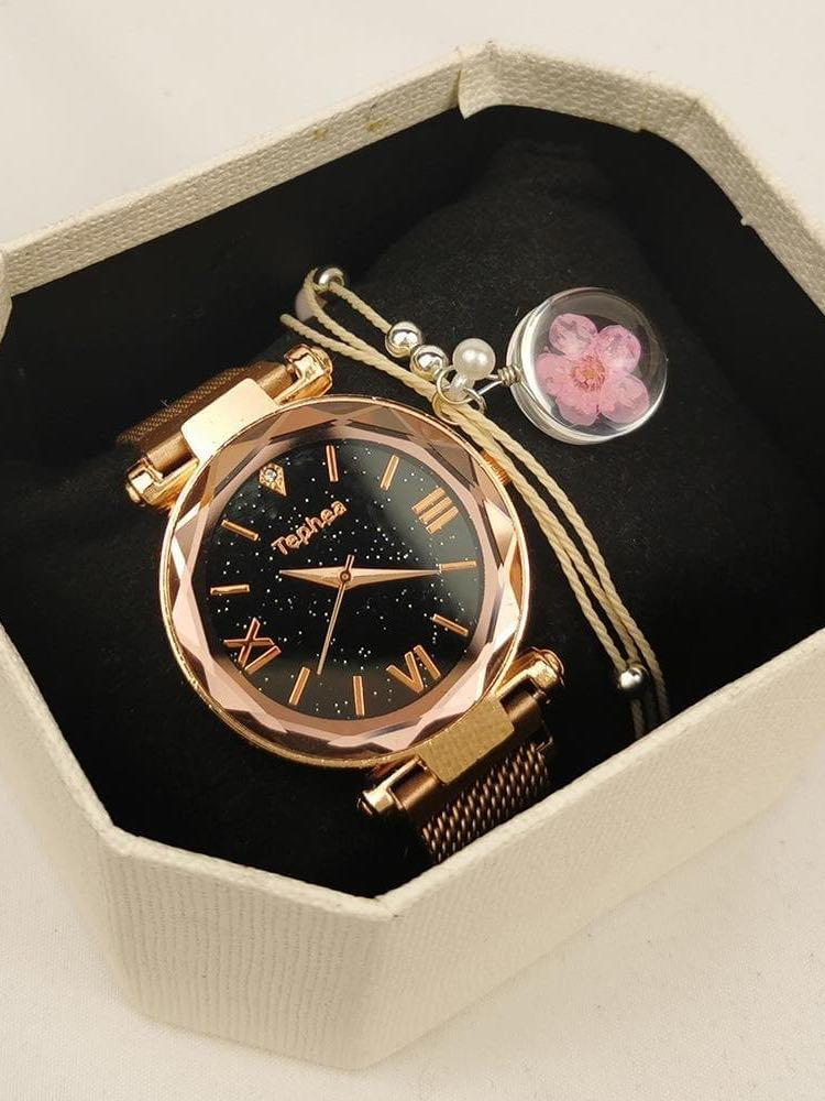 Women Quartz Watch With Bracelet Set - INS | Online Fashion Free Shipping Clothing, Dresses, Tops, Shoes