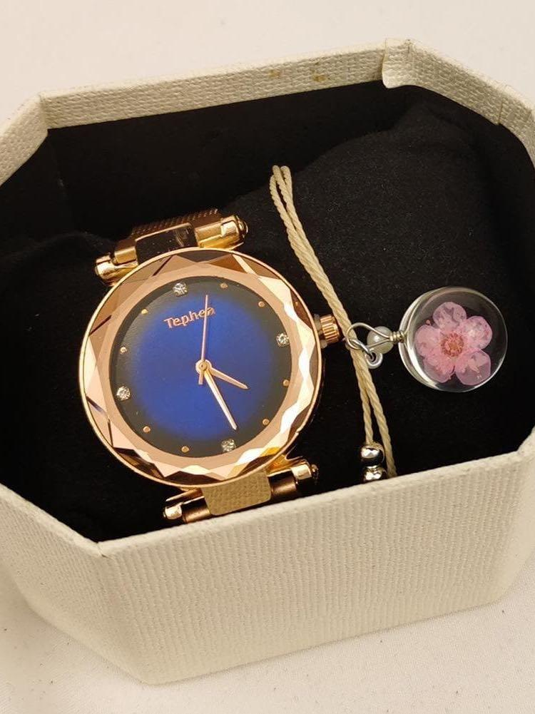 Women Quartz Watch With Bracelets Set - INS | Online Fashion Free Shipping Clothing, Dresses, Tops, Shoes