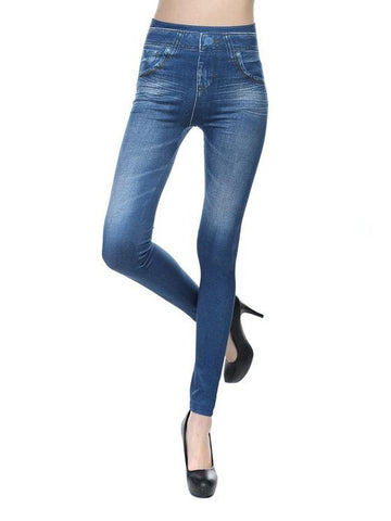 Women's High-Waist Denim Jeans - INS | Online Fashion Free Shipping Clothing, Dresses, Tops, Shoes