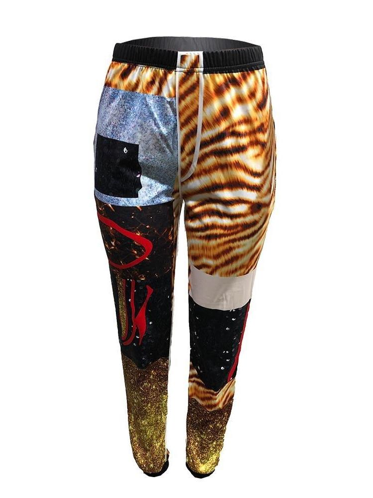 Women's Leopard Print Slacks - INS | Online Fashion Free Shipping Clothing, Dresses, Tops, Shoes