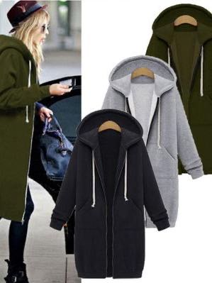Women's Long Cardigan Coat With a Hood - INS | Online Fashion Free Shipping Clothing, Dresses, Tops, Shoes