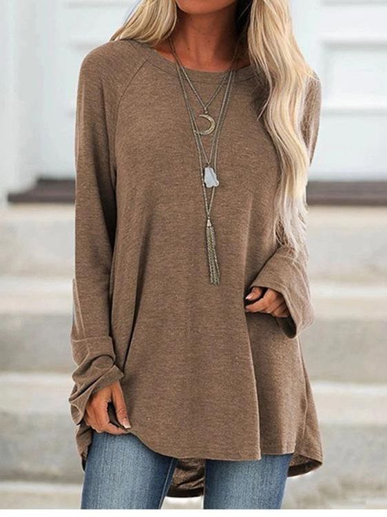 Women's Long Sleeves Casual Shirt - INS | Online Fashion Free Shipping Clothing, Dresses, Tops, Shoes