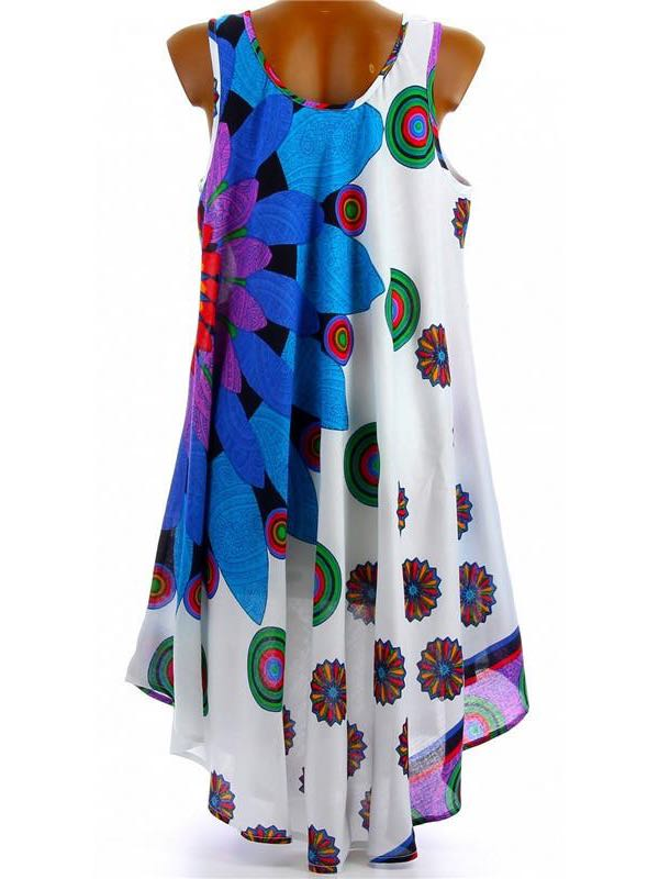 Womens loose Print Dress - INS | Online Fashion Free Shipping Clothing, Dresses, Tops, Shoes