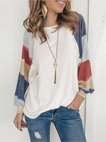 Women's Round Neck T Shirt - INS | Online Fashion Free Shipping Clothing, Dresses, Tops, Shoes