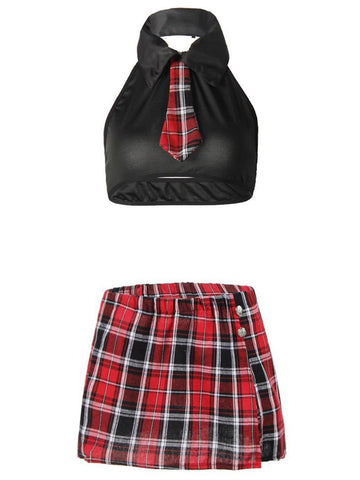 Women's Super Short Mini Plaid Skirt With Tie - INS | Online Fashion Free Shipping Clothing, Dresses, Tops, Shoes