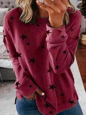 Women's Winter Crew Neck Fleece - INS | Online Fashion Free Shipping Clothing, Dresses, Tops, Shoes