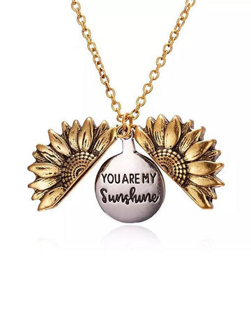You Are My Sunshine Necklace - INS | Online Fashion Free Shipping Clothing, Dresses, Tops, Shoes