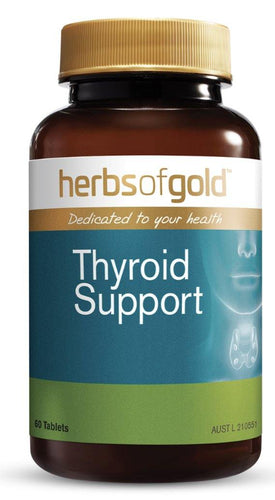 Herbs of Gold Thyroid Support 60T - Australian Nutrition Centre