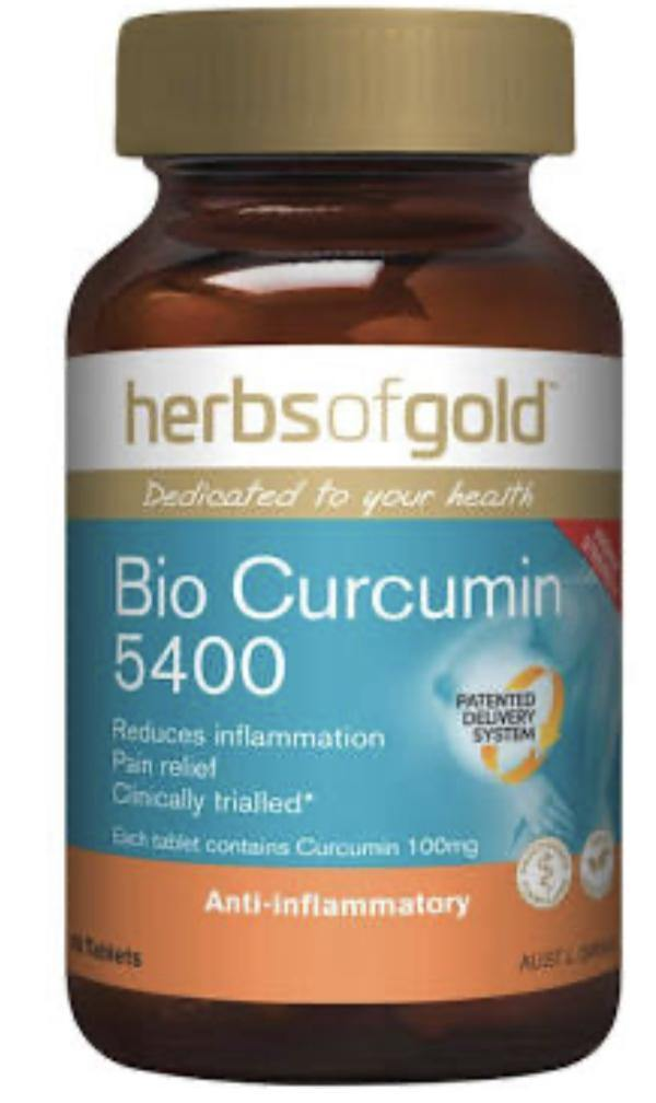 Herbs of Gold Bio Curcumin 5400 - Australian Nutrition Centre