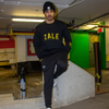 ZALE Essential Black Crewneck
