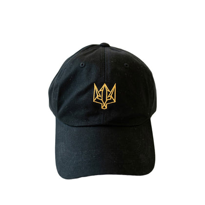 Zale Black and Gold Dad Hat