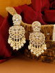 Golden Nivya Chaandbali Earrings