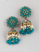 Jade Jessi Jhumki Earrings