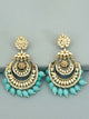 Turquoise Mumtaz Designer Earrings