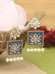 Navy Kalavati Designer Earrings