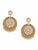 Brown Sameera Kundan Earrings