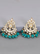 Rama Agrani Designer Kundan Earrings