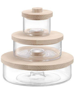 These Chic Glass Storage Containers