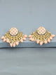 Peach Luna Designer Earrings
