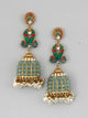 Torquoise Mayank Designer Earrings