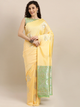 Yellow Pure Silk Woven Design Banarasi Saree