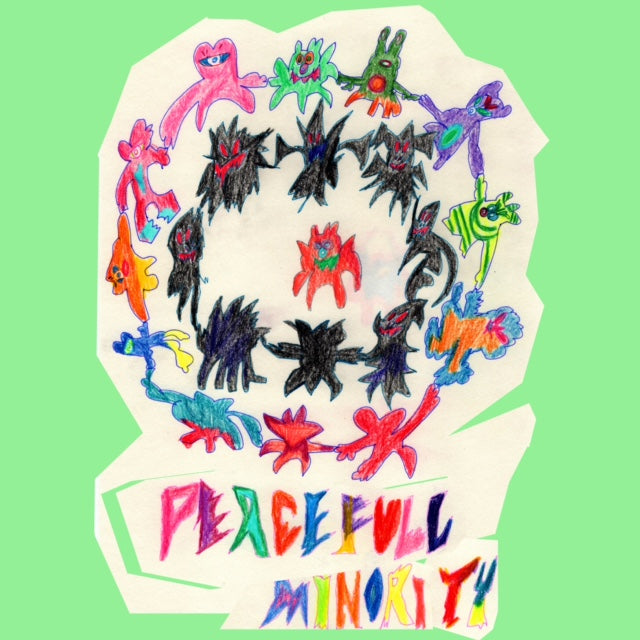 "PEACE ""FULL"" MINORITY の 巻き"