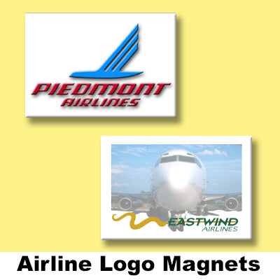 AIRLINE LOGO MAGNETS