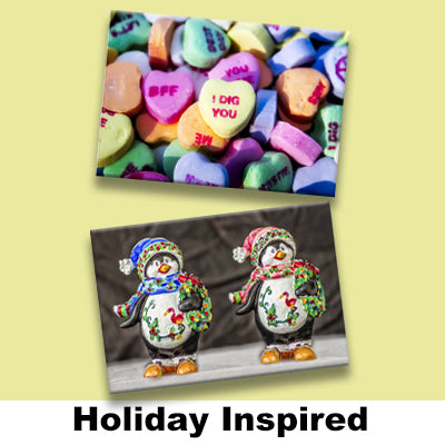 HOLIDAY INSPIRED MAGNETS