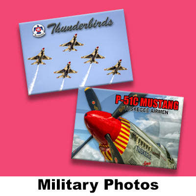 MILITARY PHOTO MAGNETS