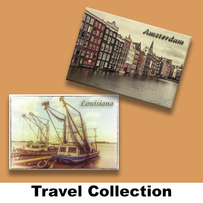 TRAVEL COLLECTION MAGNETS