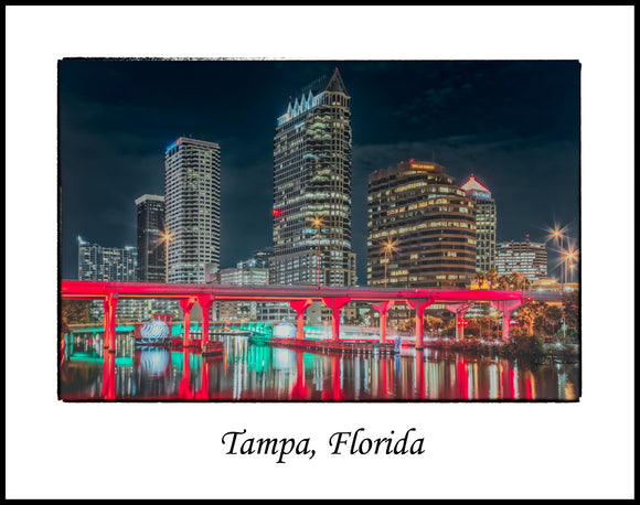 Tampa Florida Red Crosstown Bridge (2012090403411x14)