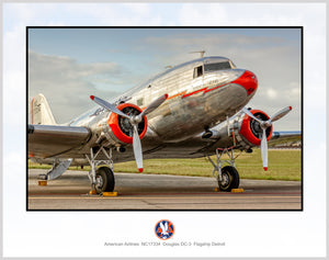 American Airlines DC-3 Flagship Detroit (A035RGJM11X14)