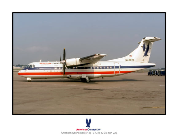 American Connection Airlines ATR-42 (AA010LGJF11X14)