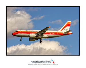 American Airlines Airbus A319 PSA Heritage (AB030LAJM11X14)