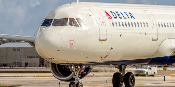Delta Air Lines Airbus A321 Nose Close Up (APPM10052)