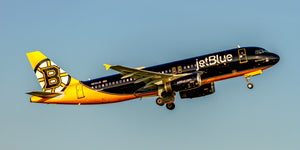 "JetBlue Airlines A320 ""Bear Force One"" Boston Bruins (APPM10073)"