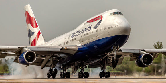 British Airways Boeing 747-436 (APPM1007910X20)