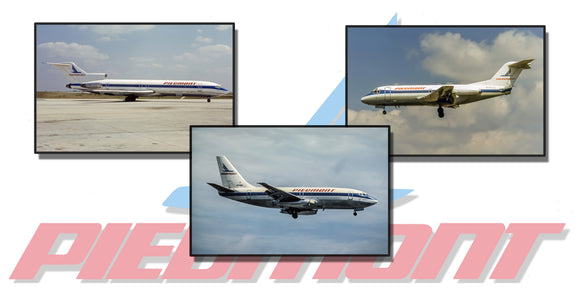 Piedmont Airlines Collage (APPM90001)