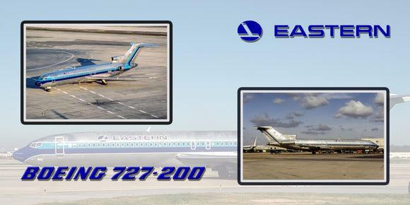 Eastern Airlines 727-200 Collage (APPM90002)